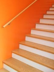 Treppe orange