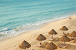 Leinwanddruck Bild - the beach in the caribbean