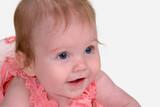 Healthy alert baby poster