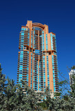 Exclusive private residences in luxury highrise on the beach poster
