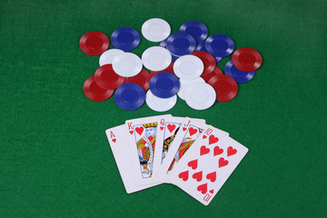 Royal flush (cards)