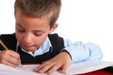 Fototapety Elementary School boy