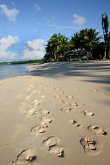 Am Strand von Western Samoa