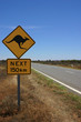 Straße im Outback Australiens