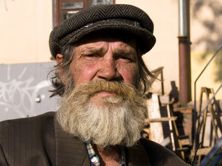 The old bearded man