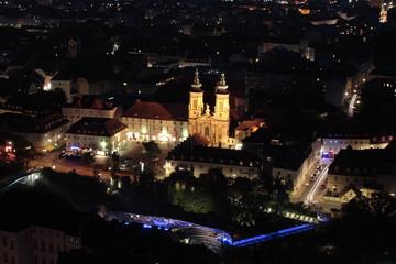 Nacht über Graz