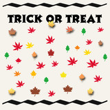 trick or treat sign poster