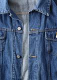 Denim jacket poster