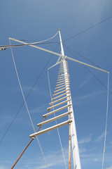 Ladder up Mast