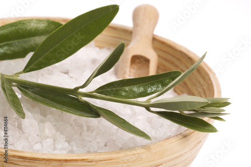 poster of olive bath items. alternative medicine