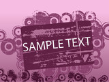 Purple Abstract copyspace poster