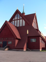 Kiruna wooden church