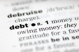 Definition of debt poster
