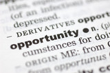 Definition of opportunity poster