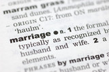 Definition of marriage poster
