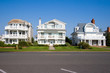 Beach houses on the New Jersey shore