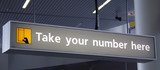 Take your number here