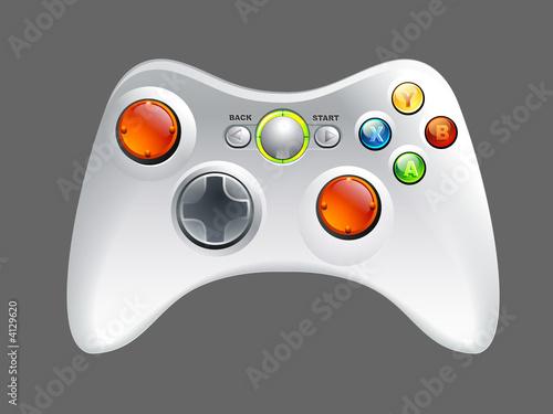 Leinwandbild Motiv Game controller