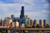 Downtown Chicago vista poster