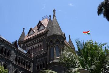 Bombay Court House - India Flag