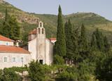 Medieval Montenegro Monastery poster