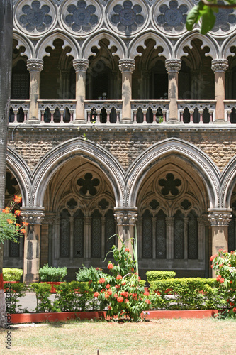 Beautiful Symmetrical Architecture - Bombay India