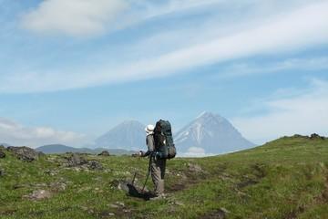 Hike in Kamchatka