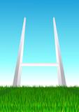 Terrain de rugby poster
