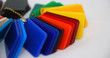 multicolor plastic