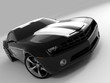 roleta: black sports car