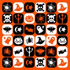 halloween motif picto