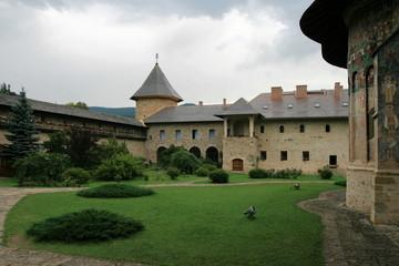 The monastery Moldovita