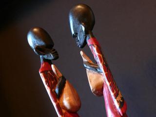 Masai face to face