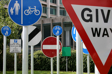A Road Sign Of The Times - Roadsigns