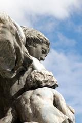 Statue en pierre