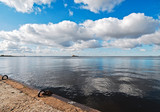 at the edge of gulf of finland, baltic sea poster