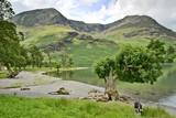 Western shore of Buttermere poster