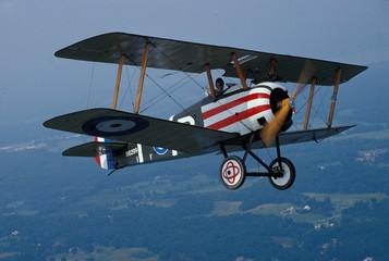 Biplane fighter