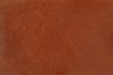 brown leather poster