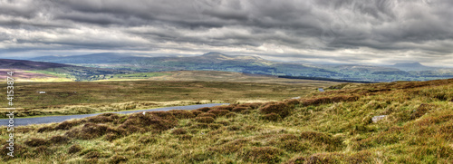 Ingleborough Common from Bowland Knotts