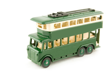 green double decker