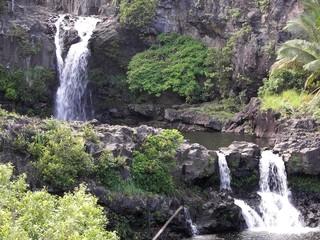 seven sacred pools hana maui, hi