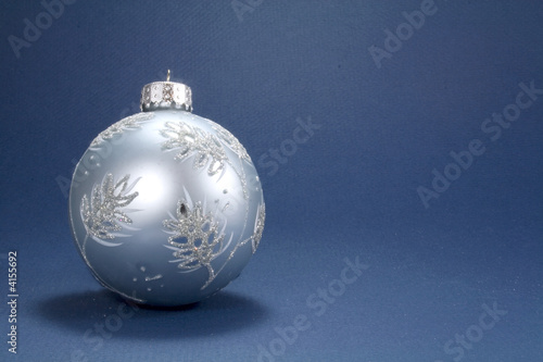Blue Ornament