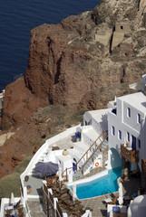 hotel with pool caldera