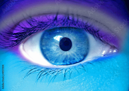 oeil fluo