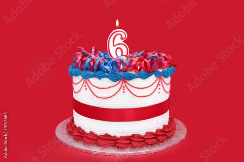 6th Cake