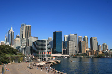 Sydney Skyline at Circular Quay