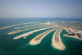 Fototapety Development Of The Palm Jumeirah In Dubai