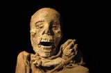 Peruvian ancient inca mummy poster