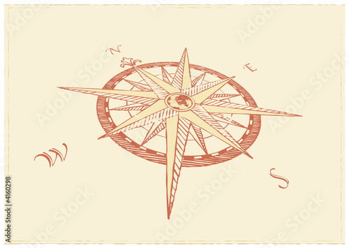 poster of Vector Compass. Great for any direction you want to go...